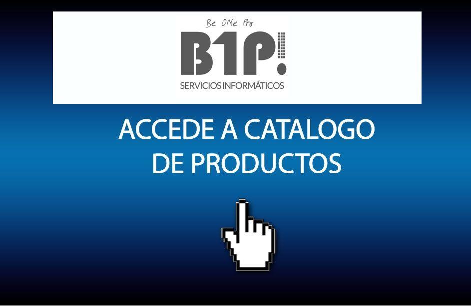 Accede al catálogo de productos B1P